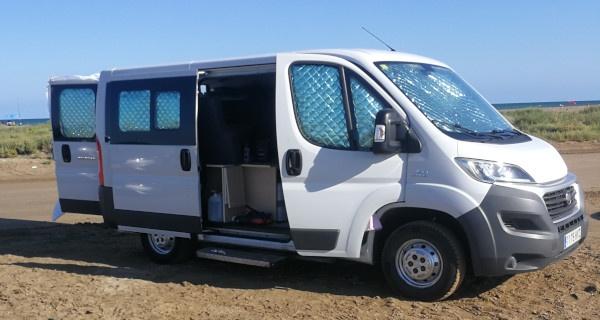 Alquiler furgonetas fiat ducato combi camper